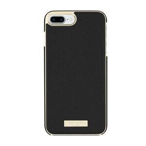 kate spade new york ケイトスペード iPhone8Plus iPhone7Plus ケース ブランド Wrap case | アイフォン8Plus アイフォン7Plus スリム ブラック 薄型 お洒落 おしゃれ スマホケース 正規代理店