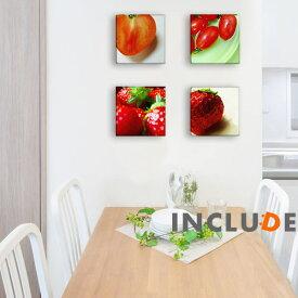 アートパネル ファブリックボード クリエーター 赤色 レッド トマト TOMATO イチゴ 苺 ストロベリー 野菜 果物 やさい くだもの 食べ物 表現力 個性 Galaion イラスト ポップアート カフェ オブジェ 風水 デコアップ シンプル