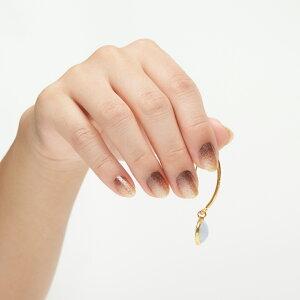 インココデザートゴールド簡単貼るだけマニキュアペディキュアネイルシール