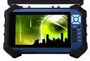 防犯カメラ調整用モニター ITM-7000B AHD/TVI/アナログ(CVBS)対応 工事現場用 バッテリー内蔵
