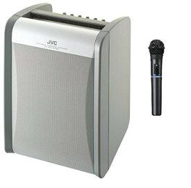JVCケンウッド ポータブルワイヤレスアンプ PE-W51SB-M (シングルチューナー+ワイヤレスマイク1本同梱)