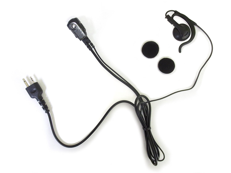 アルインコ ALINCO DJ-PB20用汎用品 トランシーバー イヤホンマイク イヤーパッド2個付 EMH-2S10