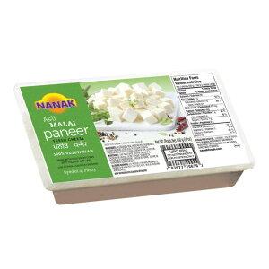 【クール便配送】【PANEER BLOCK 400g】【NANAK】パニールブロック400g 【BLOCK】【チーズ】【パニール】【カッテージチーズ】【冷凍食品】ナナック400G