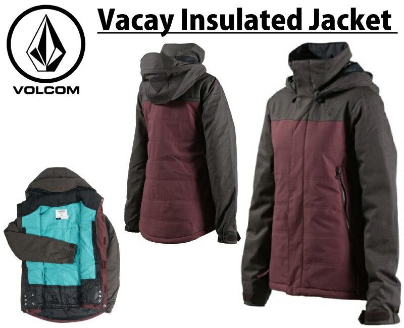 32%OFF 16-17 VOLCOM 【ボルコム】Vacay Ins Jacket スノーボード ウエア ジャケット レディース