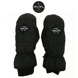 HOWL ハウル JET MITT ジェット ミット メンズ レディース 19-20 スキー スノーボード グローブ 手袋 ミトン SNOW BLACK Mサイズ