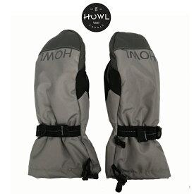 HOWL ハウル NETWORK MITT メンズ レディース 19-20 スキー スノーボード グローブ 手袋 ミトン GREY Mサイズ