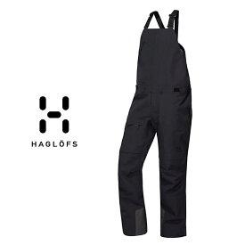 HAGLOFS ホグロフス NENGAL 3L PROOF BIB MEN ネンガル 3レイヤー プルーフ ビブ メンズ 19-20 スキー スノーボード パンツ ビブ オーバーオール TrueBlack Sサイズ Mサイズ