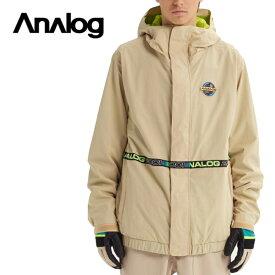 ANALOG アナログ Blast Cap Jacket ジャケット メンズ 19-20 スノーボード ウェア ジャケット Safari Sサイズ
