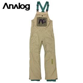 ANALOG アナログ Ice Out Bib Pants パンツ メンズ 19-20 スノーボード ウェア パンツ オーバーオール ビブ Safari Mサイズ