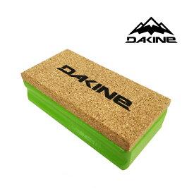 DAKINE ダカイン NYLON CORK BRUSH スキー スノーボード メンテナンス コルク ブラシ GREEN