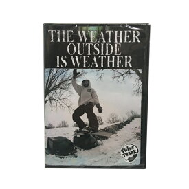The Weather Outside is Weather スノーボード THINK THANK シンクサンク ジブ レール ストリート フリースタイル DVD