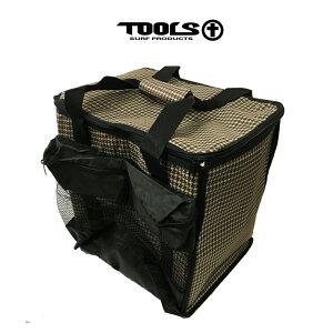 TOOLS ツールズ ポリタンクカバー サーフィン カバー 保温 保冷 千鳥格子 ブラウン 20L