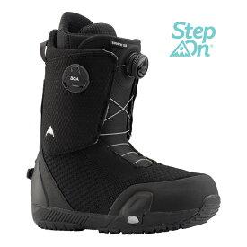 BURTON バートン Men's Swath Step On® Snowboard Boot メンズ 19-20 スノーボード ブーツ スワス ボア ダイヤル ステップオン BLACK