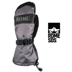 ROME SDS ローム エスディーエス BRONSON MITT ブロンソン ミット 20-21 スキー スノーボード グローブ 手袋 ミトン BLACK Mサイズ Lサイズ