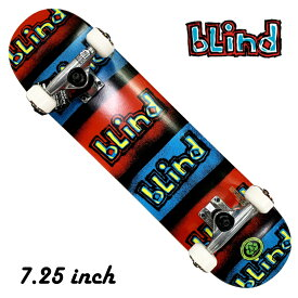 blind ブラインド Reflective 7.25 キッズ 子供 スケボー スケート スケートボード コンプリート コンプ 組立品 デッキ 7.25inch