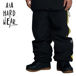 AA HEADWEAR ダブルエー TEAM TRACK PANTS チームトラックパンツ メンズ レディース ユニセックス 21-22 スキー スノーボード ウェア パンツ SANTA CRUZ BK/YE Lサイズ