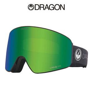 DRAGON ドラゴン PXV メンズ レディース 21-22 スキー スノーボード ゴーグル 平面レンズ フレームレス ヘルメット ジャパンフィット ECHO SILVER LL J.GREEN IONIZED