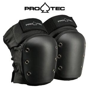 PRO-TEC プロテック STREET KNEE PADS スケボー スケート ニーパッド 膝用 プロテクター BLACK Sサイズ
