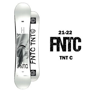 FNTC エフエヌティーシー TNT C ティーエヌティー シー メンズ 21-22 スノーボード 板 ハイブリッド キャンバー グラトリ カービング WHITE 153cm 157cm