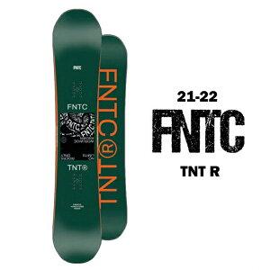 FNTC エフエヌティーシー TNT R ティーエヌティー アール メンズ 21-22 スノーボード 板 ダブルキャンバー グラトリ ジブ GREEN 150cm