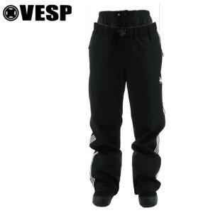 VESP ベスプ FOURLINE TRACK PANTS メンズ レディース ユニセックス 21-22 スキー スノーボード ウェア パンツ VPMP1019 BK Mサイズ