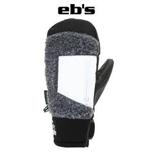 eb's エビス HARUSAKI-MITT ハルサキ・ミット 21-22 スノーボード スキー グローブ 手袋 ミトン #4100010 CHARCOAL-BOA XSサイズ Sサイズ