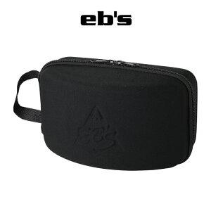 eb's エビス GOGGLE CASE ゴーグル・ケース 21-22 スノーボード スキー ゴーグル ケース ハード スペアレンズ BLACK