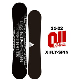 011artistic ゼロワンワンアーティスティック X FLY SPIN エックスフライスピン 21-22 スノーボード 板 ダブルキャンバー グラトリ 155cm
