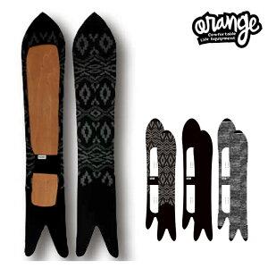 oran'ge orange オレンジ Knit cover Long Double Pin ニットカバーロングダブルピン 21-22 スノーボード ボードカバー ソールカバー ボードケース ニット ピンテール Black Standard(145-160cm) Long(160-175cm)
