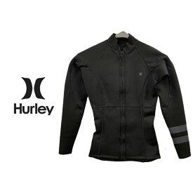 HURLEY ハーレー WMS ADVANTAGE PLUS 1/1MM ZIP JACKET GZFZJK20 ウーマンズ アドバンテージ プラス 1/1mm ジャケット フロントジップ レディース ウェットスーツ 00A(BLACK) MSサイズ Mサイズ Lサイズ