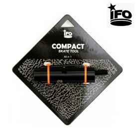 IFO アイエフオー COMPACT SKATE TOOL スケートボード スケート スケボー ツール T字 BLACK