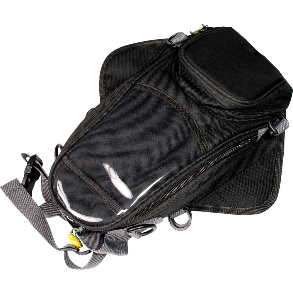 品番D1 バイク用 タンクバッグ コンパクトサイズ 3L収納 マグネット取付タイプ