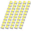 LEDチップ SMD 3528 ホワイト 白発光 50個 打ち替え 打ち換え DIY 自作 エアコンパネル メーターパネル スイッチ