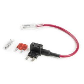 品番FS2 ミニ平型 ヒューズ電源取り出し配線 12V24V兼用 10A ヒューズ付き