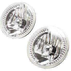 【HID対応】 JA11 ジムニー [H2.2-H7.10] 36発LED搭載 7インチヘッドライト 2個