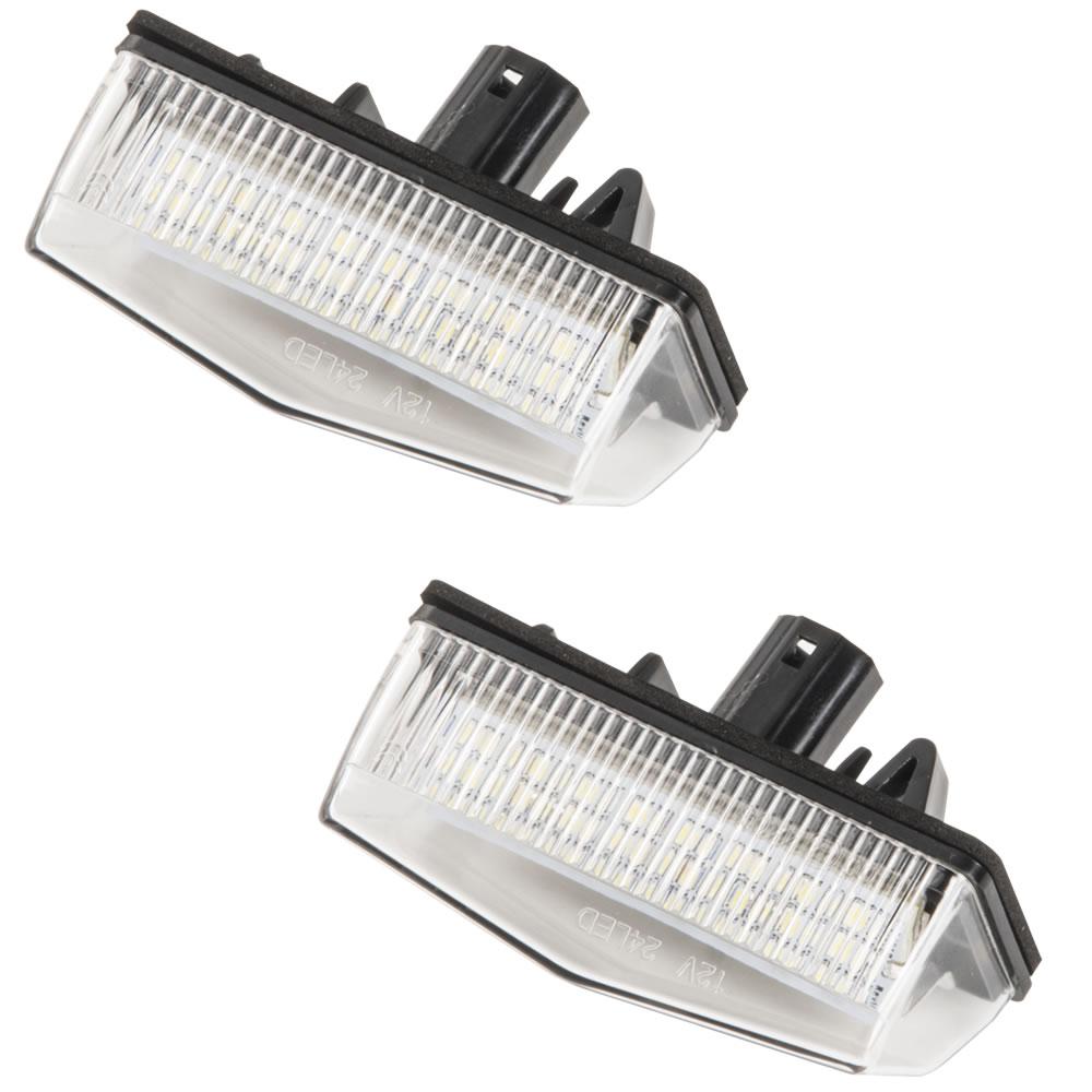 品番NA03 ZWA10 レクサス CT200h LED ナンバー灯 ライセンスランプ ASSY 白発光 無極性 81271-53011