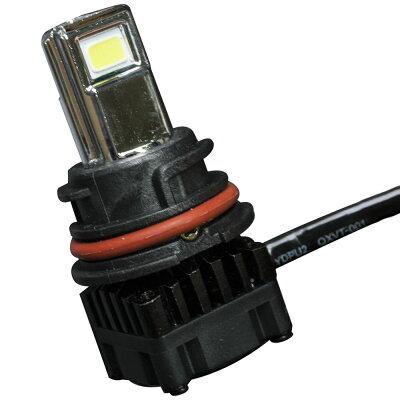 スズキアドレスV125S(〜'12)スクーター用LEDヘッドライト30W3000ルーメンPH111個直流交流両対応AC&DC9-18V