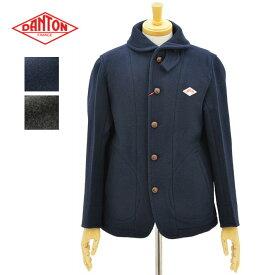 ダントン JD-8237WOM 2color ウールモッサ ラウンドカラー シングルジャケット DANTON WOOL MOSSER SINGLE JACKET