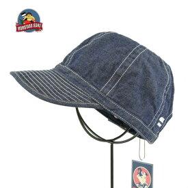 桃太郎ジーンズ SJ015 インディゴ メカニックキャップ 帽子 MOMOTARO JEANS DENIM CAP