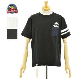 桃太郎ジーンズ 07-066 2color ジンバブエコットン ポケット桃太郎Tシャツ MOMOTARO JEANS