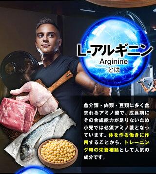 アルギニンシトルリン亜鉛大容量40日分サプリメント筋トレサプリ