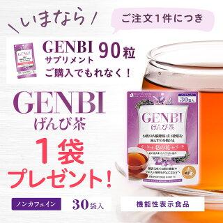 【GENBI】【送料無料】お腹の内臓脂肪・皮下脂肪を減らすのを助ける葛の花由来イソフラボン配合ダイエット美容機能性表示食品(届出番号D71)