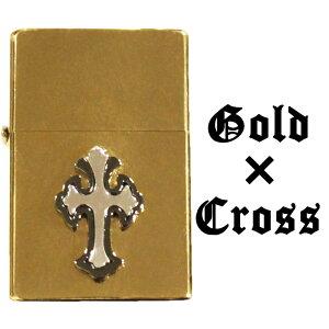 ゴールド クロス CROSS 十字架 オリジナルデザイン スペシャルモデル メタル オイルライター ライター ジッポー用外装ケース ZIPPO zippo ジッポー ジッポ 互換商品 ケース