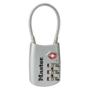 ナンバー可変式TSAロック ワイヤータイプ 4688JADSLV
