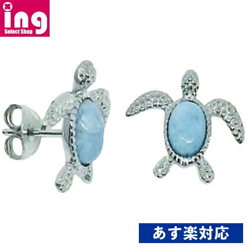 Larimar Stone Jewelry ラリマー ストーン ジュエリー ホヌピアス E838