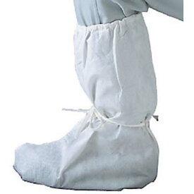 クリーンガードCXシューズカバー(長靴型)白 25足入り作業現場の汚れ防止、工場見学にも最適MONO-68300 06904021