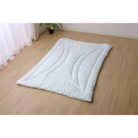 掛け布団 シングル 寝具 抗菌防臭 アレル物質吸着 『ヌード アレルプルーフ』 約150×210cm