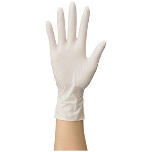 ファーストレイト 使いきりニトリル手袋 粉なし ホワイト SS 1箱(100枚入)FR-060 使い捨て手袋 病院 医療 食品 介護 家事 園芸 掃除 作業用 手袋 ニトリル手袋 清潔