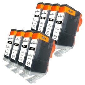 BCI-9BK ブラック/黒8個 【互換インクカートリッジ】 キャノン インク BCI-9BK 【永久保証】 Canon PIXUS iP9910 iP8600 iP8100 iP7500 iP7100 iP6700D iP6600D iP6100D iP5200R iP4500 iP4300 iP4200 iP3500 iP3300 iX5500 Pro9000 Mark II Pro9000 【送料無料】