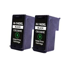 【永久保証】 HP140 黒2個 【互換インクカートリッジ】 日本HP用 【送料無料】 HP Officejet J5780 J6480 Photosmart C4380 C4275 C4480 C4486 C4490 C4580 C5280 D5360